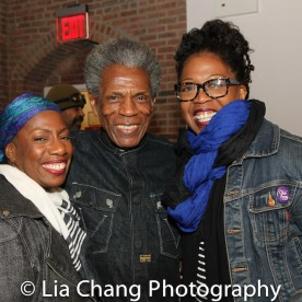 Virginia Woodruff, André De Shields and Kimberly Ann Harris. Photo by Lia C hang