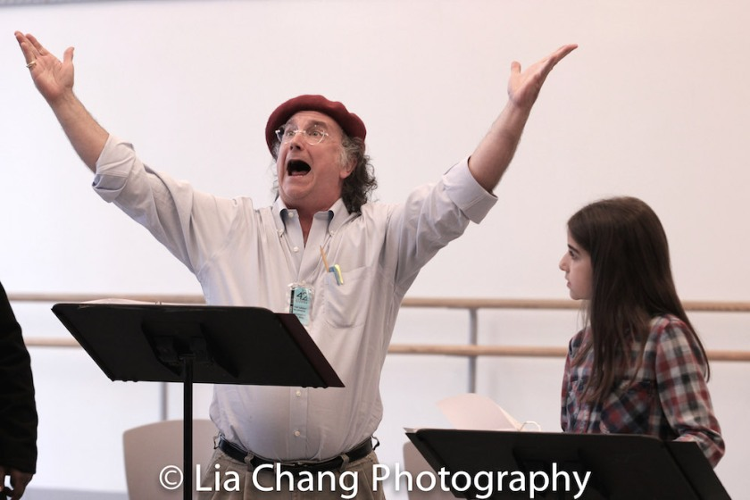 Mark-Linn Baker and Ava Della Pietra. Photo by Lia Chang