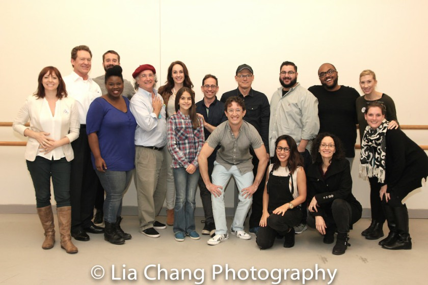 THE GREAT BLUENESS Cast and Creative Team. Photo by Lia Chang