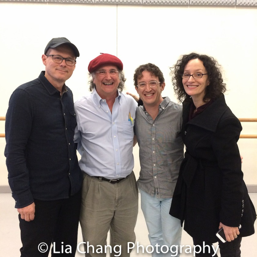 John Carrafa, Mark-Linn Baker, Andre Gerle and Barbara Walsh. Photo by Lia Chang