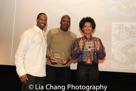 Demetrius Angelo with Urban Action Comic Content Creators Honorees. Photo by Lia Chang