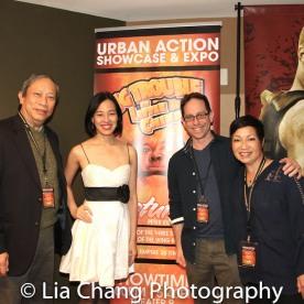 Kenny Chin, Lia Chang, Garth Kravits and Patricia Lee Chu. Photo by Lori Tan Chinn