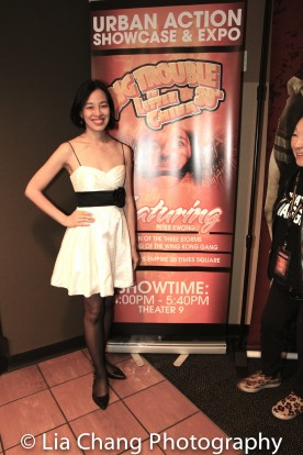 Lia Chang after the 30th Anniversary screening of BIG TROUBLE IN LITTLE CHINA at the 4th Annual Urban Action Showcase and Expo at the AMC Empire 25 Times Square in New York on November 12, 2016. Photo by Garth Kravits
