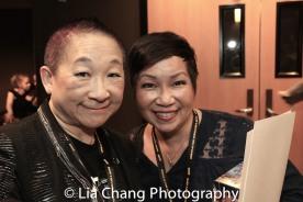 Patricia Lee Chu and Lori Tan Chinn. Photo by Lia Chang