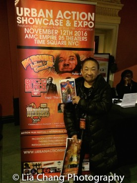 Lori Tan Chinn at the 4th Annual Urban Action Showcase and Expo at the AMC Empire 25 Times Square in New York on November 12, 2016. Photo by Lia Chang