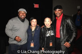 Patricia Chu, Lori Tan Chinn and Robert Samuels. Photo by Lia Chang