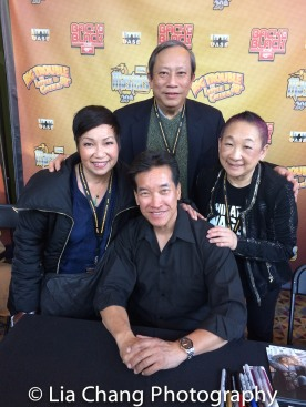 Patricia Lee Chu, Kenny Chin, Peter Kwong and Lori Tan Chinn. Photo by Lia Chang
