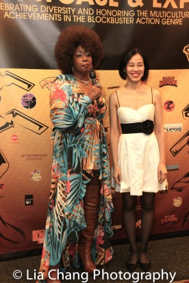 Rochelle Miller and Lia Chang at the Urban Action Showcase Diversity in Action Celebration at the AMC Empire 25 Times Square in New York on November 12, 2016. Photo by Garth Kravits
