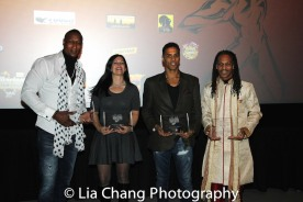 Hakim Alston, Christine Bannon Rodrigues, Taimak and Oso Tayri Casel at the Urban Action Showcase Diversity in Action Celebration at the AMC Empire 25 Times Square in New York on November 12, 2016. Photo by Lia Chang