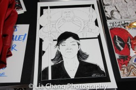 Artwork by Will Torres at the 4th Annual Urban Action Showcase and Expo at the AMC Empire 25 Times Square in New York on November 12, 2016. Photo by Lia Chang