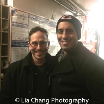 Garth Kravits and Nehal Joshi. Photo by Lia Chang