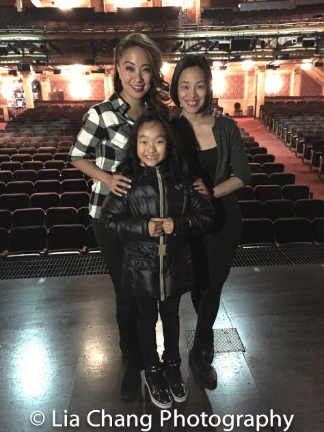 Jaygee Macapugay, Olivia Chun and Lia Chang. Photo by Garth Kravits