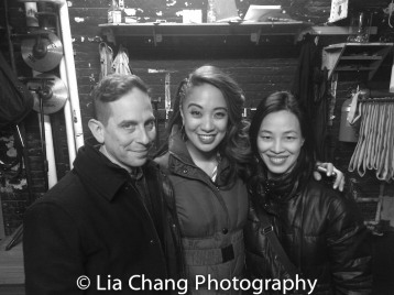 Garth Kravits, Jaygee Macapugay and Lia Chang