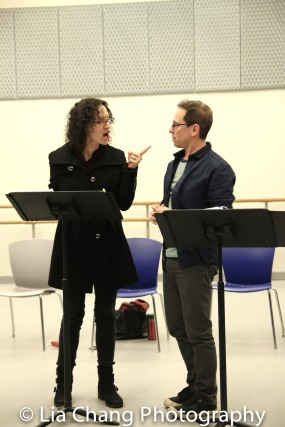 Barbara Walsh and Garth Kravits. Photo by Lia Chang