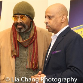 Anthony Chisholm and Ruben Santiago-Hudson. Photo by Lia Chang