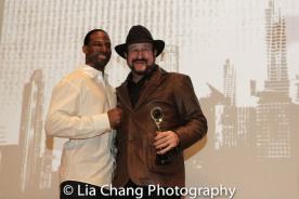 Demetrius Angelo and Alan Goldberg at the UAS IAFF Awards at HBO in New York on November 11, 2016. Photo by Lia Chang