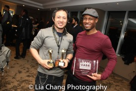 Phoenix Award Honoree Emmanuel Brown at the Cinemax® VIP Welcome Red Carpet Reception and UAS IAFF Awards at HBO in New York on November 11, 2016. Photo by Lia Chang