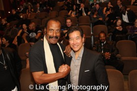 """Fred """"The Hammer"""" Williamson at the Cinemax® VIP Welcome Red Carpet Reception and UAS IAFF Awards at HBO in New York on November 11, 2016. Photo by Lia Chang"""