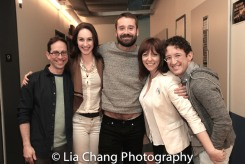 Garth Kravits, Laura Hall, Jody Schum, Pamela Bob and Andrew Gerle. Photo by Lia Chang