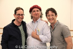 Garth Kravits, Mark-Linn Baker and Andre Gerle. Photo by Lia Chang