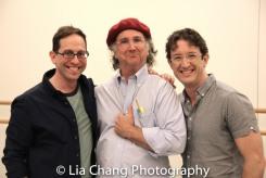 Garth Kravits, Mark-Linn Baker and Andre Gerle. Photo by Lia Chang