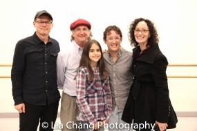 John Carrafa, Mark-Linn Baker, Ava Della Pietra, Andrew Gerle and Barbara Walsh. Photo by Lia Chang