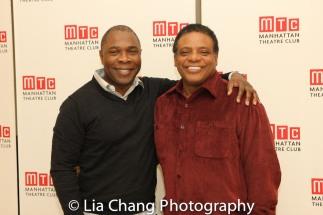 Michael Potts and Harvy Blanks. Photo by Lia Chang