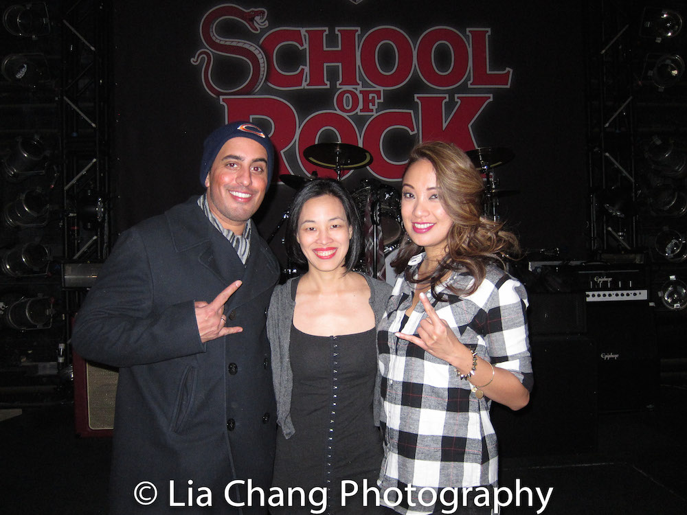 Nehal Joshi, Lia Chang and Jaygee Macapugay. Photo by Garth Kravits