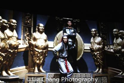 Peter Kwong as Rain in BIG TROUBLE IN LITTLE CHINA.