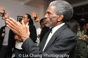 André De Shields at the opening night celebration at Atelier Florian. Photo by Lia Chang