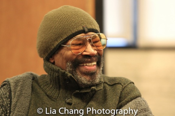 Anthony Chisholm. Photo by Lia Chang
