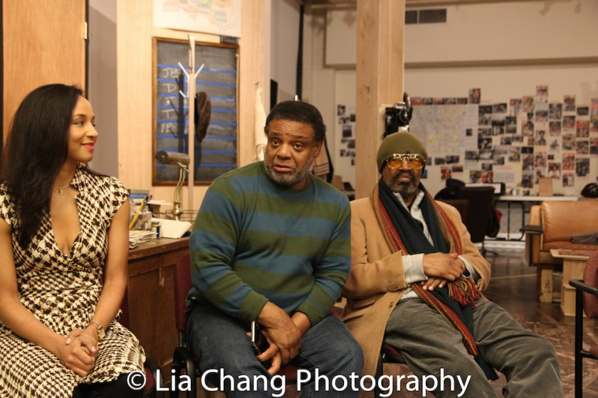 Carra Patterson, Harvy Blanks and Anthony Chisholm. Photo by Lia Chang
