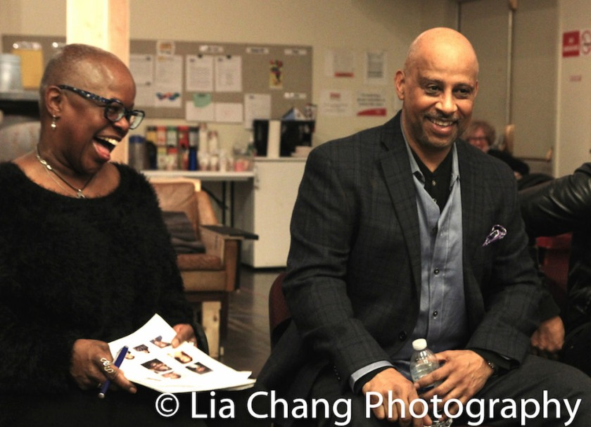 Katti Gray and Ruben Santiago-Hudson. Photo by Lia Chang