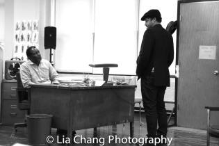 John Douglas Thompson and Brandon Dirden. Photo by Lia Chang