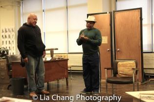 Keith Randolph Smith and Harvy Blanks. Photo by Lia Chang