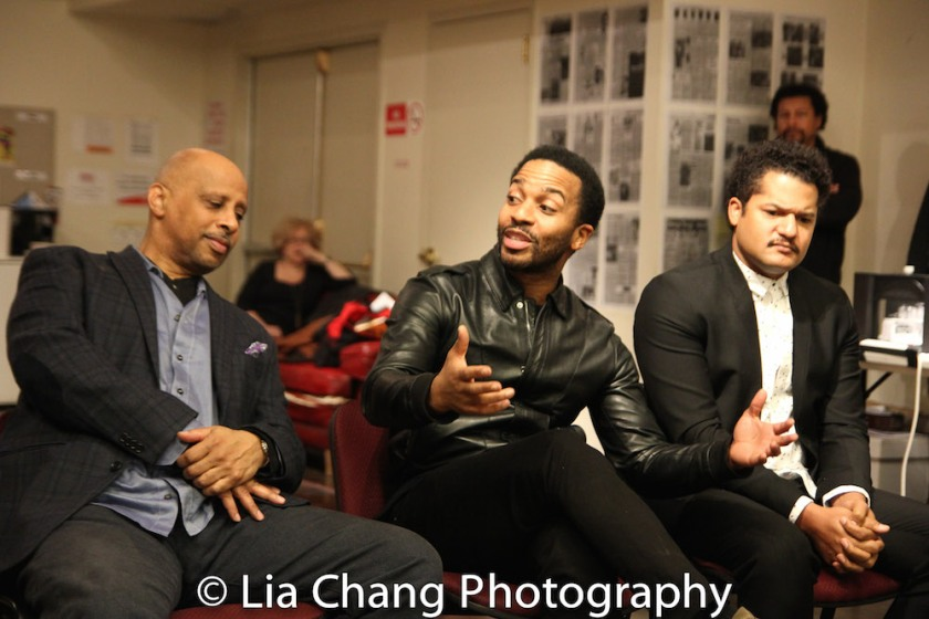 Ruben Santiago-Hudson, André Holland, Brandon Dirden. Photo by Lia Chang