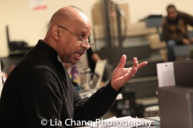 Director Ruben Santiago-Hudson. Photo by Lia Chang