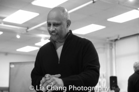 Director Ruben Santiago-Hudson. Photo by Lia Chang