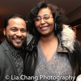 Jason Dirden and Kimberly Ellis. Photo by Lia Chang