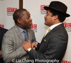 Michael Potts and Brandon J. Dirden. Photo by Lia Chang