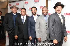 Keith Randolph Smith, Harvy Blanks, André Holland, Michael Potts and Brandon J. Dirden. Photo by Lia Chang