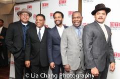 Keith Randolph Smith, Harvy Blanks, André Holland, Michael Potts and Brandon J. Dirden. Photo by Lia Chang