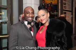 Rashad Chambers and Rema Webb. Photo by Lia Chang