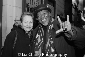 Deborah Brevoort and Chuck Cooper. Photo by Lia Chang