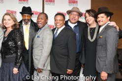 Anthony Chisholm, Michael Potts, Harvy Blanks, Keith Randolph Smith, Lynne Meadow and Brandon J. Dirden. Photo by Lia Chang