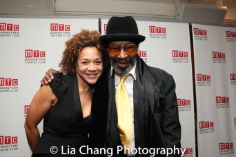 Michole Briana White and Anthony Chisholm. Photo by Lia Chang