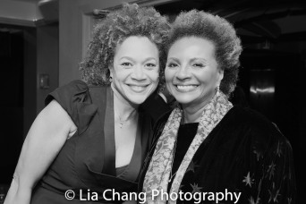 Michole Briana White and Leslie Uggams. Photo by Lia Chang