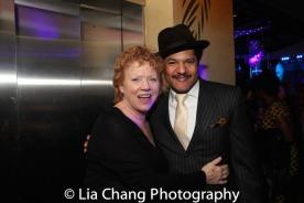 Becky Ann Baker and Brandon J. Dirden. Photo by Lia Chang
