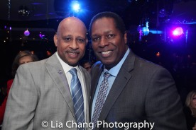 Ruben Santiago-Hudson and Wren T. Brown. Photo by Lia Chang