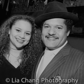 Lily Santiago-Hudson and Brandon J. Dirden. Photo by Lia Chang